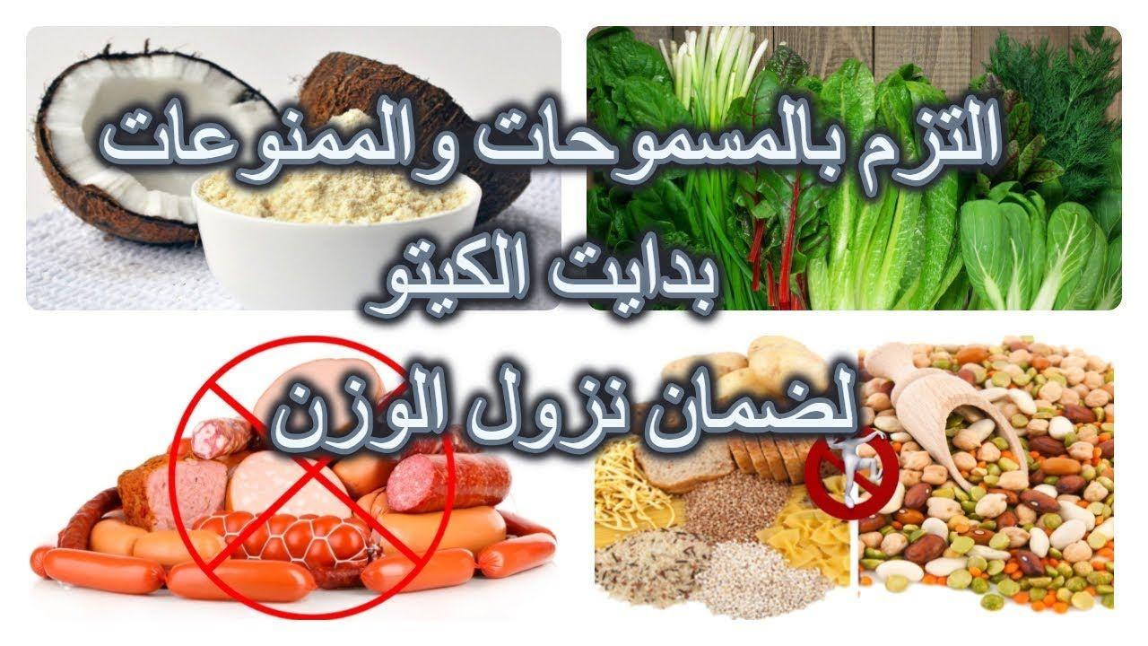 المسموحات والممنوعات بدايت الكيتو لضمان نزول الوزن المسموح والممنوع في Keto
