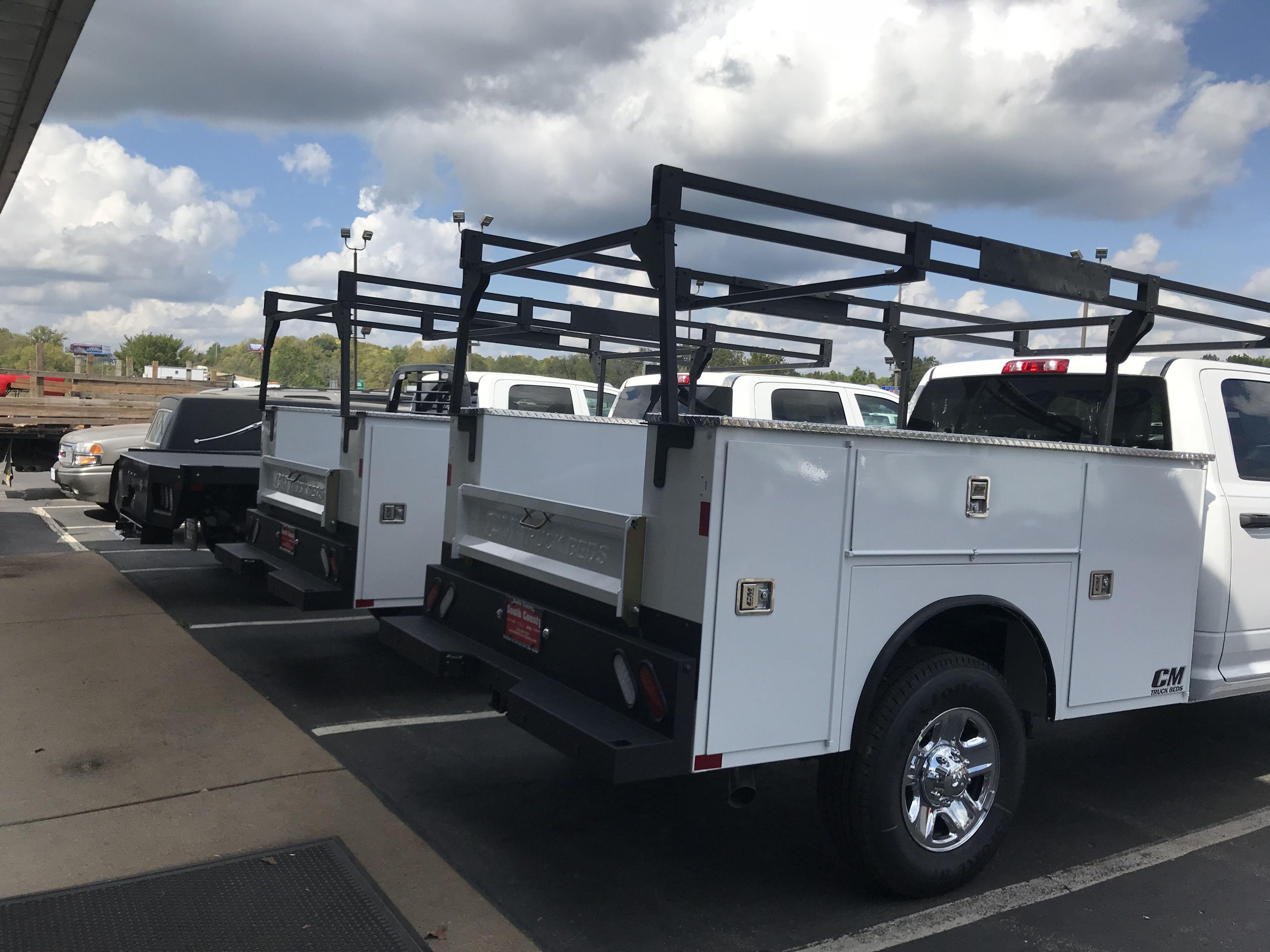 Cm truck beds. Service bodies/ midwest motors www