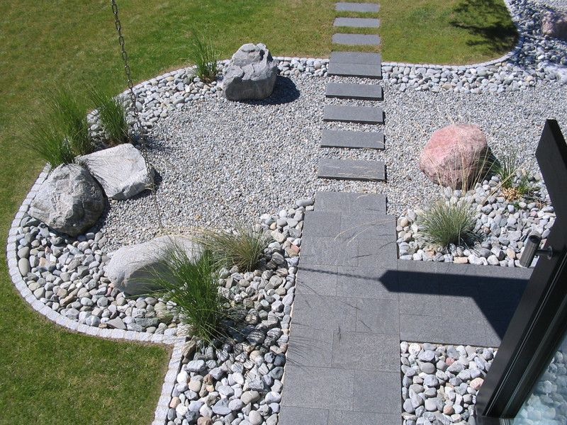 Spektakulär Gartengestaltung Mit Gräsern Und Steinen Vorgartengestaltung Mit  Steinen Und Grasern Usblife.info 10