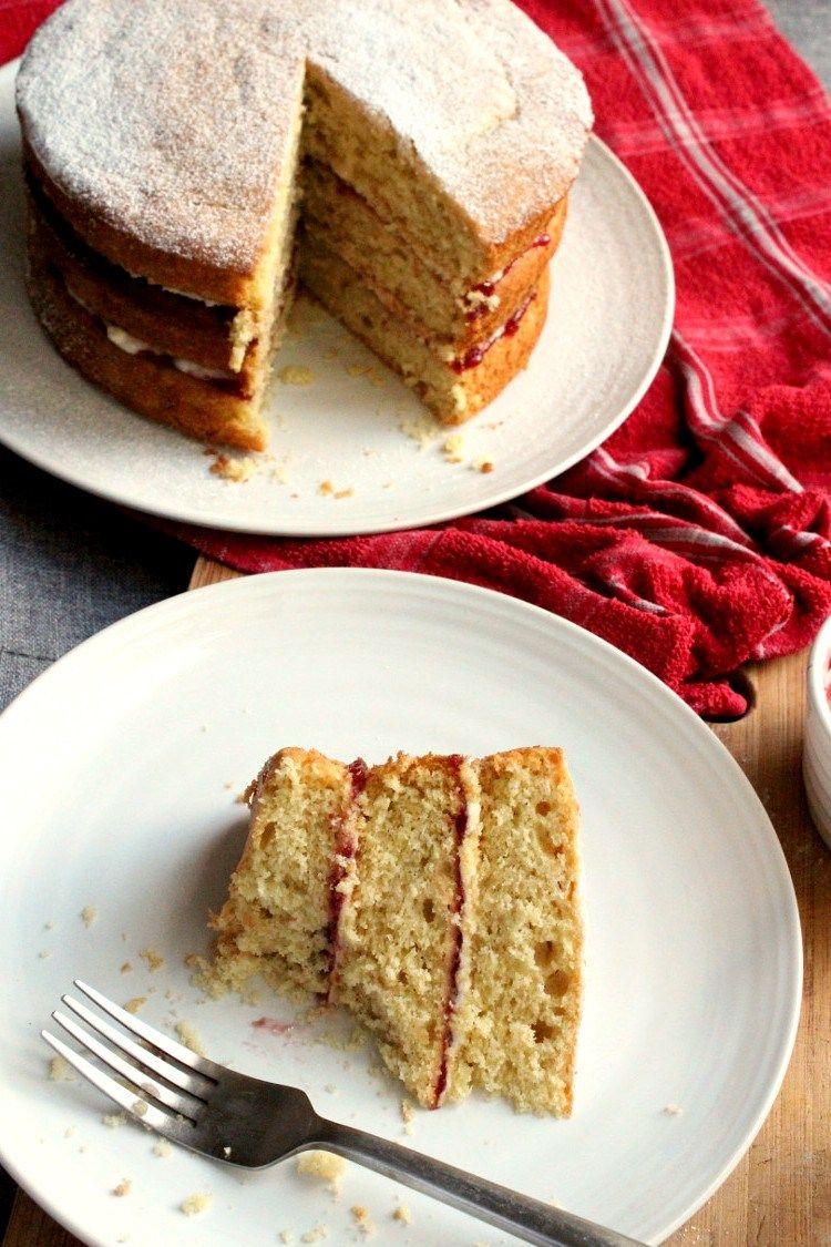 Vegan Victoria Sponge Cake The Compassion Kitchen Recipe Vegan Victoria Sponge Victoria Sponge Victoria Sponge Cake