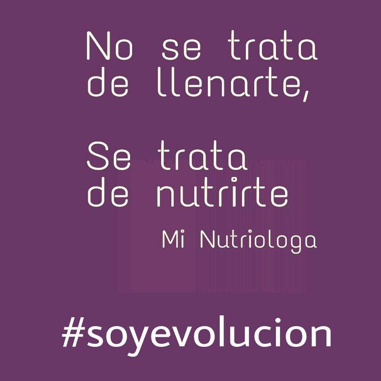 has deporte, alimentate, sonrie, disfruta la vida, se agradecido, #soyevolucion