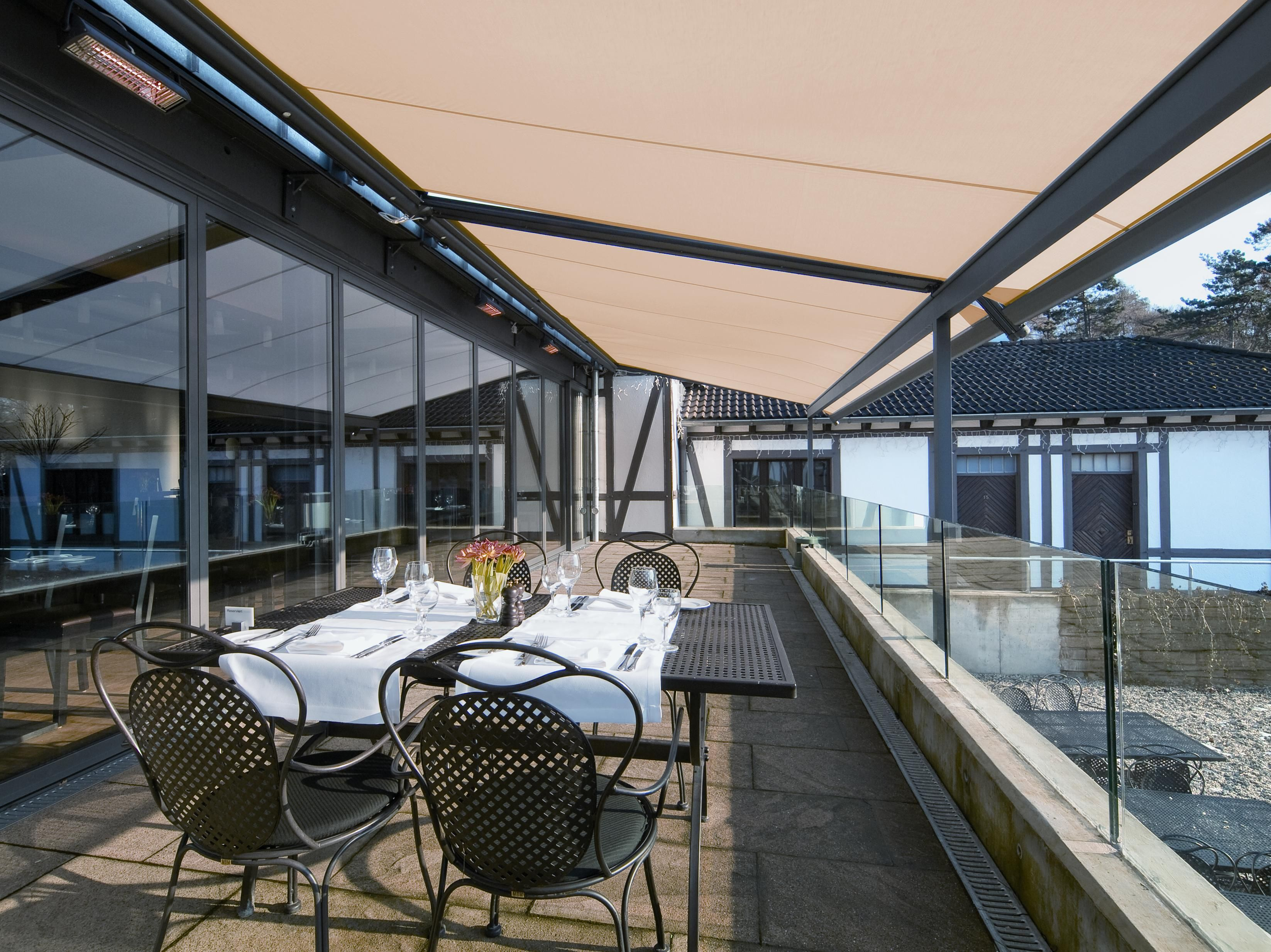 Email Your Dimensions To Sales Modernised Co Uk For Made To Measure Restaurant Awnings House Awnings Blinds Design House Blinds