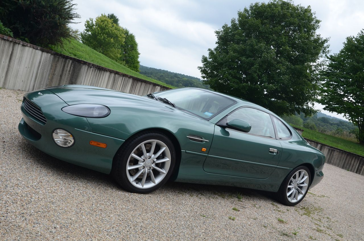 This Aston Martin DB Vantage Coupe Has One Owner And K Miles - 2000 aston martin