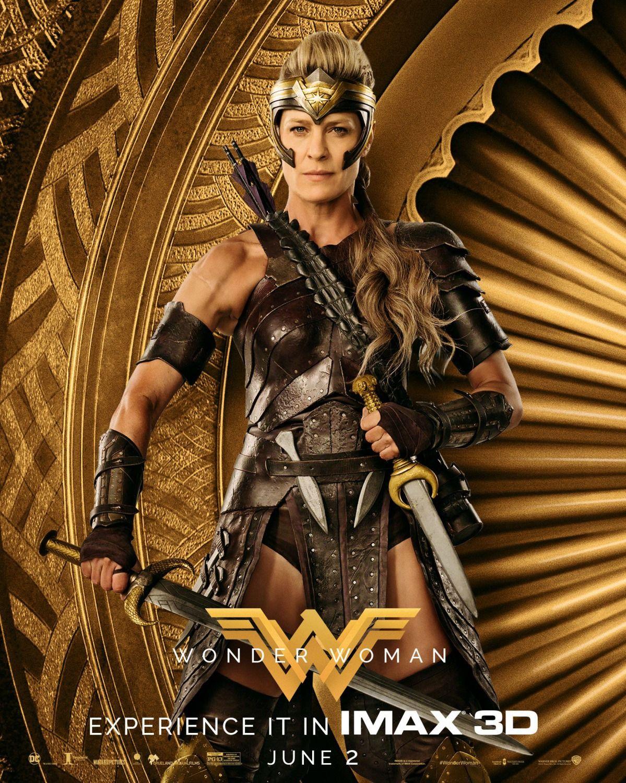 Wonder Woman 2017 Poster Robin Wright Wonder Woman Movie Wonder Woman 2017 Poster Wonder Woman