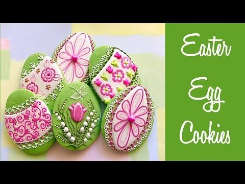 Easter egg cookies youtube the third egg is exquisite sugar easter egg cookies youtube the third egg is exquisite negle Gallery