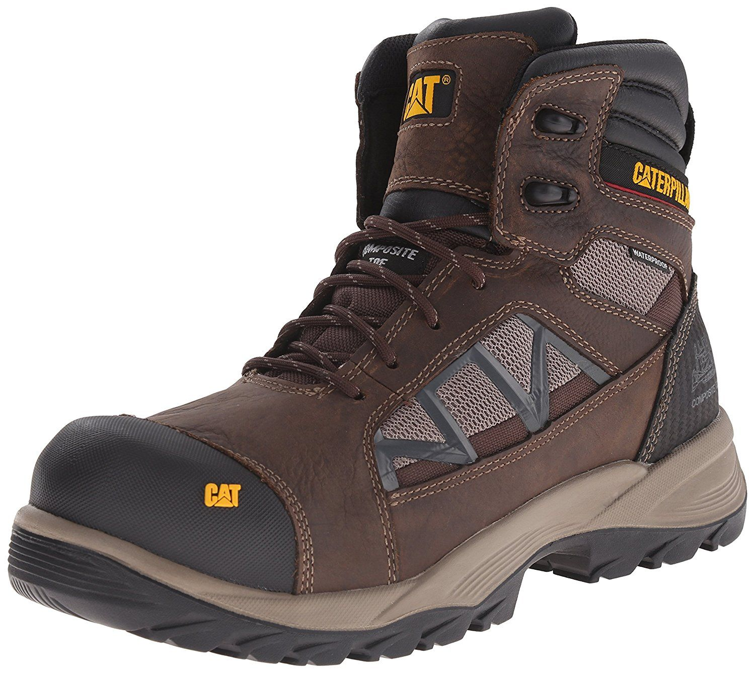 Caterpillar Men's Compressor 6' Waterproof Comp Toe Work Boot >>> Amazing  shoe product