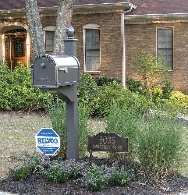 Coronado Mailbox With Deluxe Post Brick Mailbox Traditional Mailboxes Mailbox Decor Mailboxes and posts sets