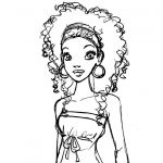 african american   African American Coloring Pages Mc   character ...