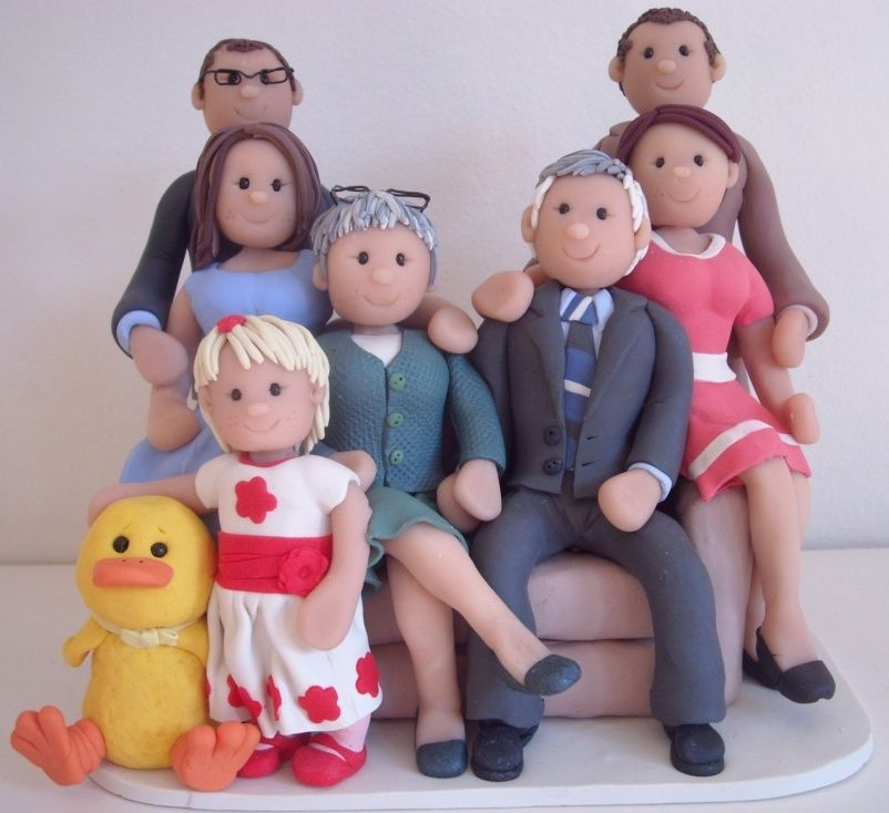 how to make fondant people
