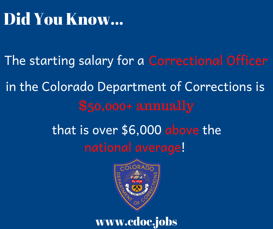 Learn more at cdoc.jobs/ DidYouKnow Career Salary