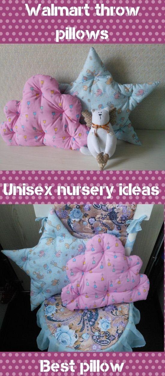 Walmart throw pillows Cute pillows Best pillow Star Shaped Unisex nursery ideas Best baby gifts Star cushion Cloud pillow Pillows for cot