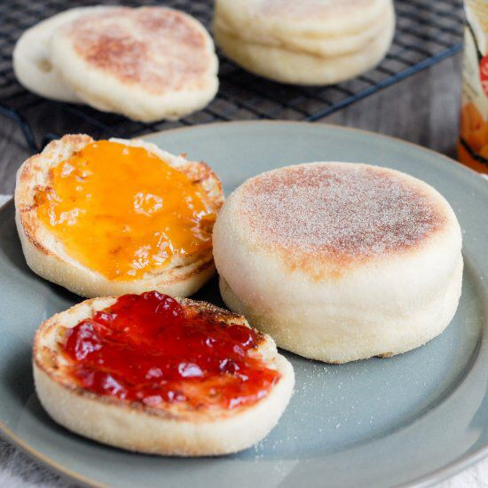 Perfect for breakfast or afternoon tea, no oven needed ...