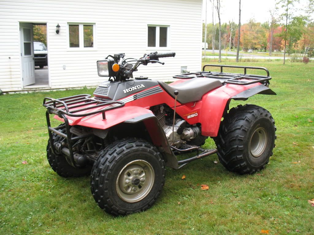 Fourtrax 250 Atv Quads Quad Bike Atv