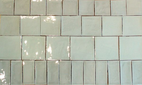 spanish handmade square tiles and