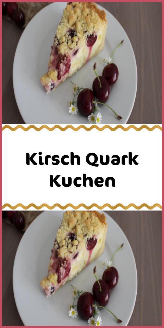 Kirsch Quark Kuchen Kuchen Streusel Kuchen Kirschen