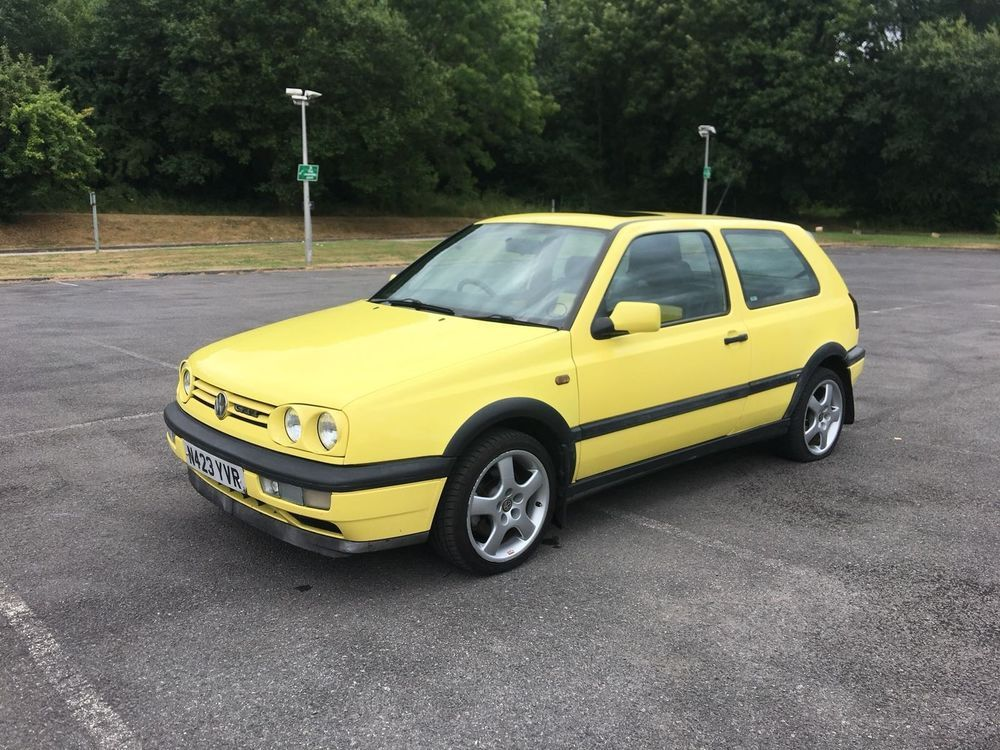 Ad 1996 Volkswagen Golf Gti Colour Concept 3dr Yellow