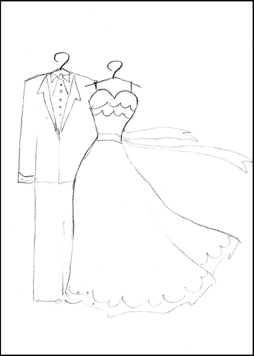 Topmodel Ausmalbilder Hochzeit : Coloring Pages Maybe For The Kids During The Reception Free