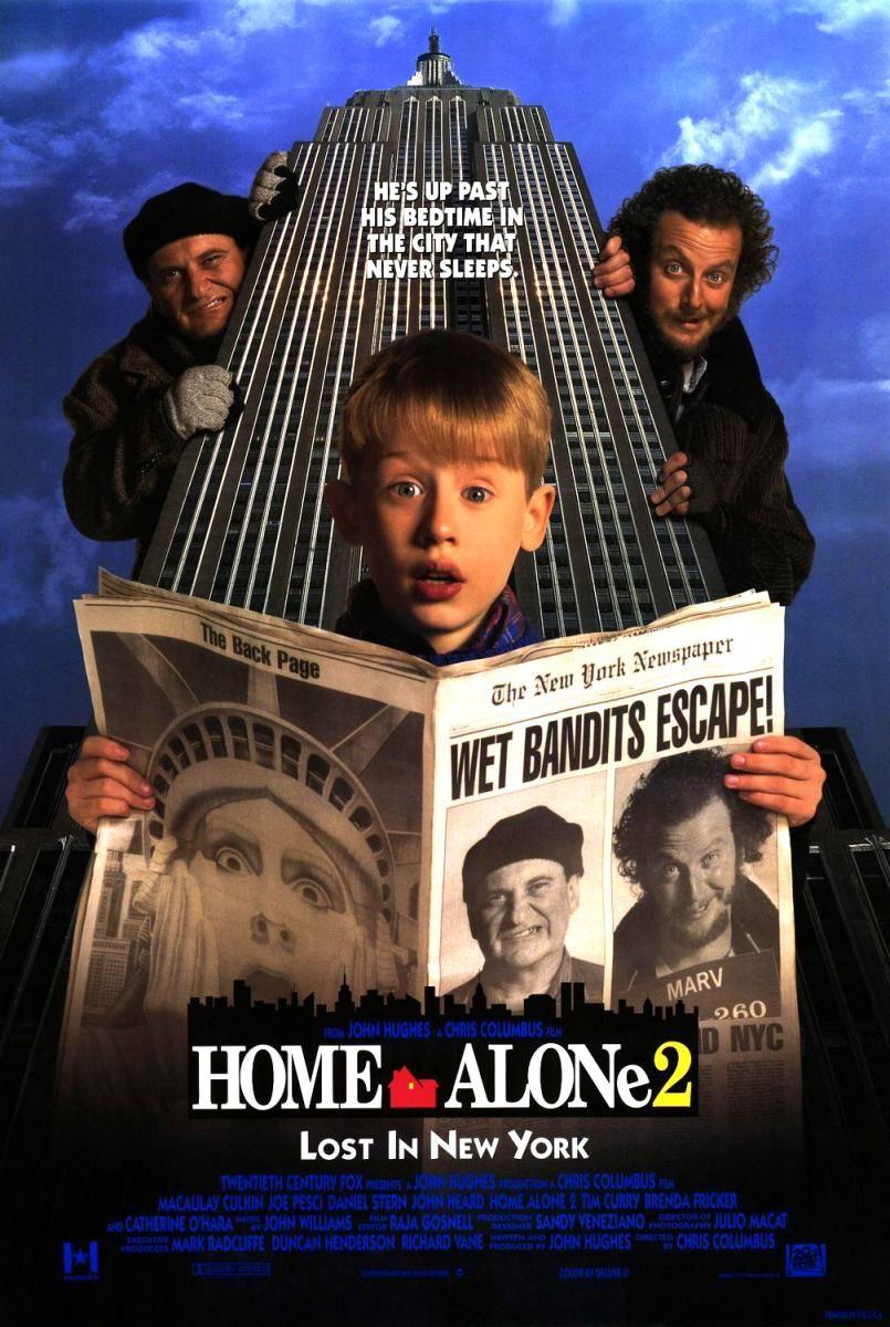 Solo En Casa 2 Perdido En Nueva York 1992 Peliculas De Comedia Peliculas De Adolecentes Peliculas
