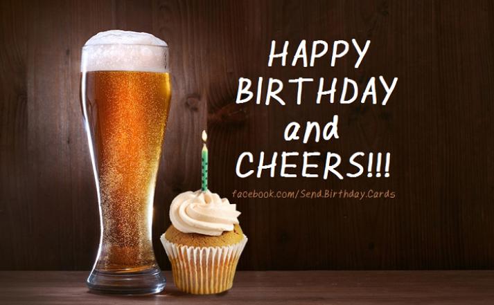 Happy birthday bilder bier