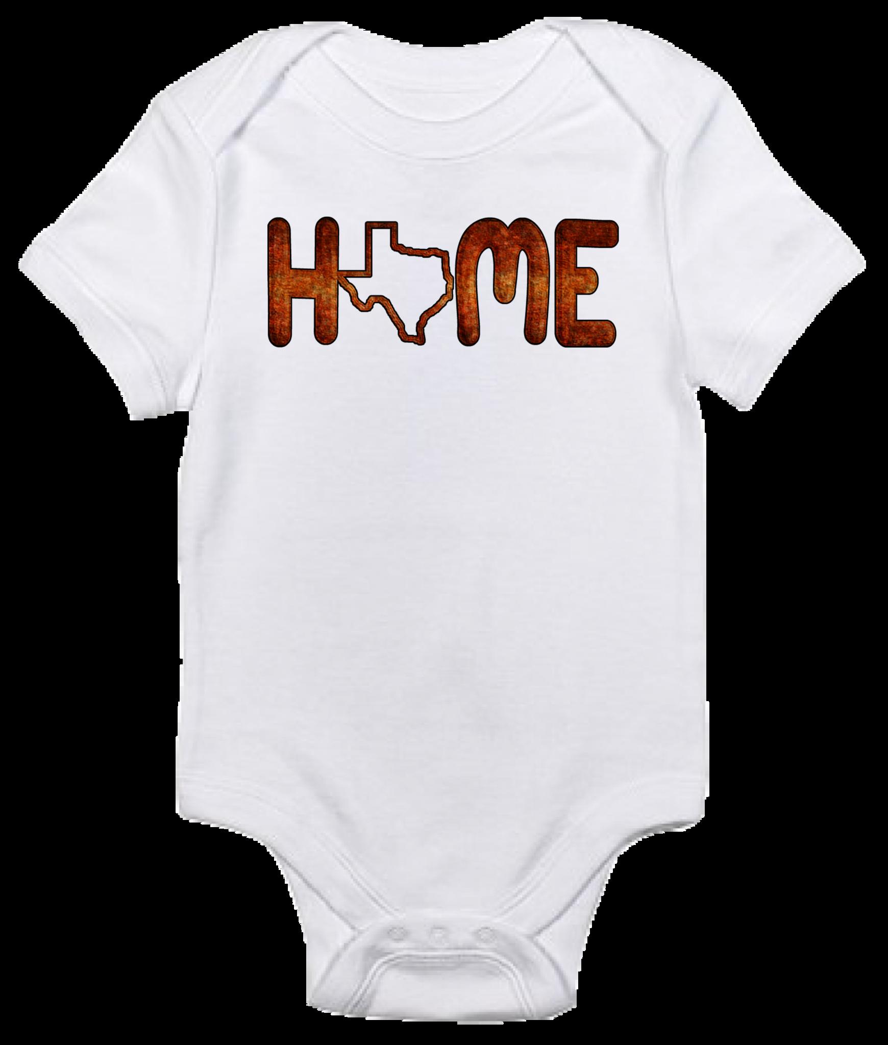Baby Bodysuit Texas Home