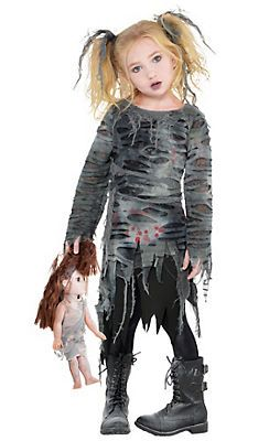 Toddler Girls Scary Costumes , Toddler Costumes , Halloween
