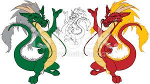 chinese dragon with beard graphic - Google Search
