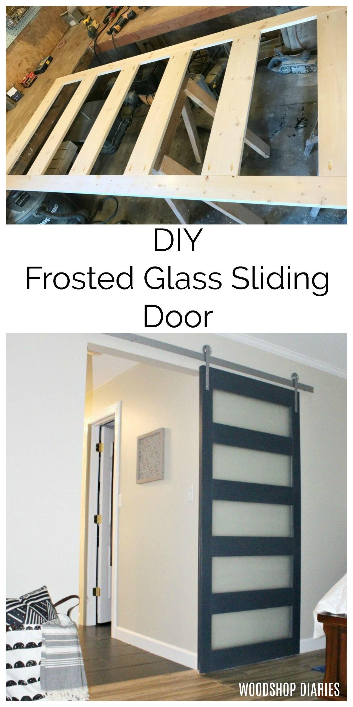 How To Build A Diy Modern Sliding Door In 2020 Diy Sliding Door Diy Barn Door Modern Sliding Doors