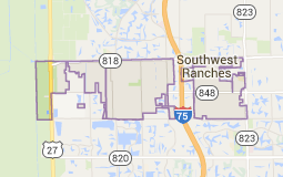 Map of southwest ranches fl | Broward County City Maps | Home ...