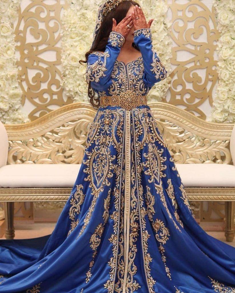 Robe de mariage marocaine à louer pas cher