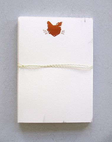 Parcel - cat, petite-pressed cards  http://shop.shopparcel.com/collections/write/products/cat-petite-pressed-cards