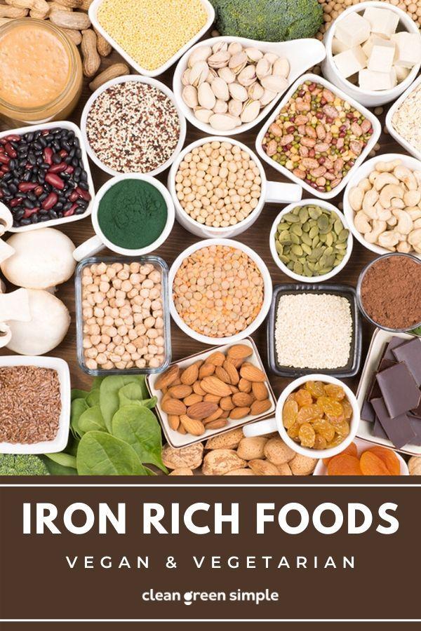 15 IronRich Foods for Vegetarians & Vegans in 2020 Iron