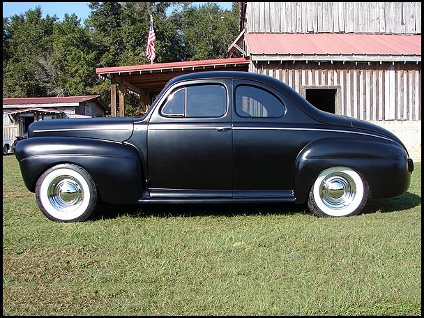 1941 Ford 2 Door Business Coupe 90 Hp 3 Speed Presented As Lot