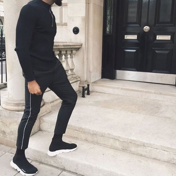 balenciaga speed runner outfit