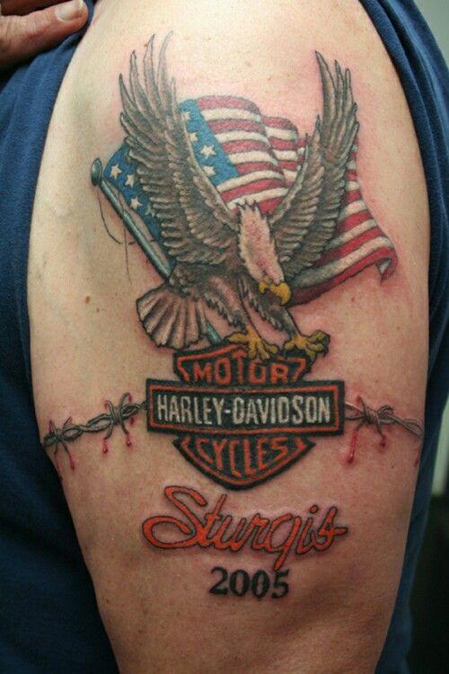 Tattoo tattoo designs pinterest biker tattoos for Free harley davidson tattoo designs