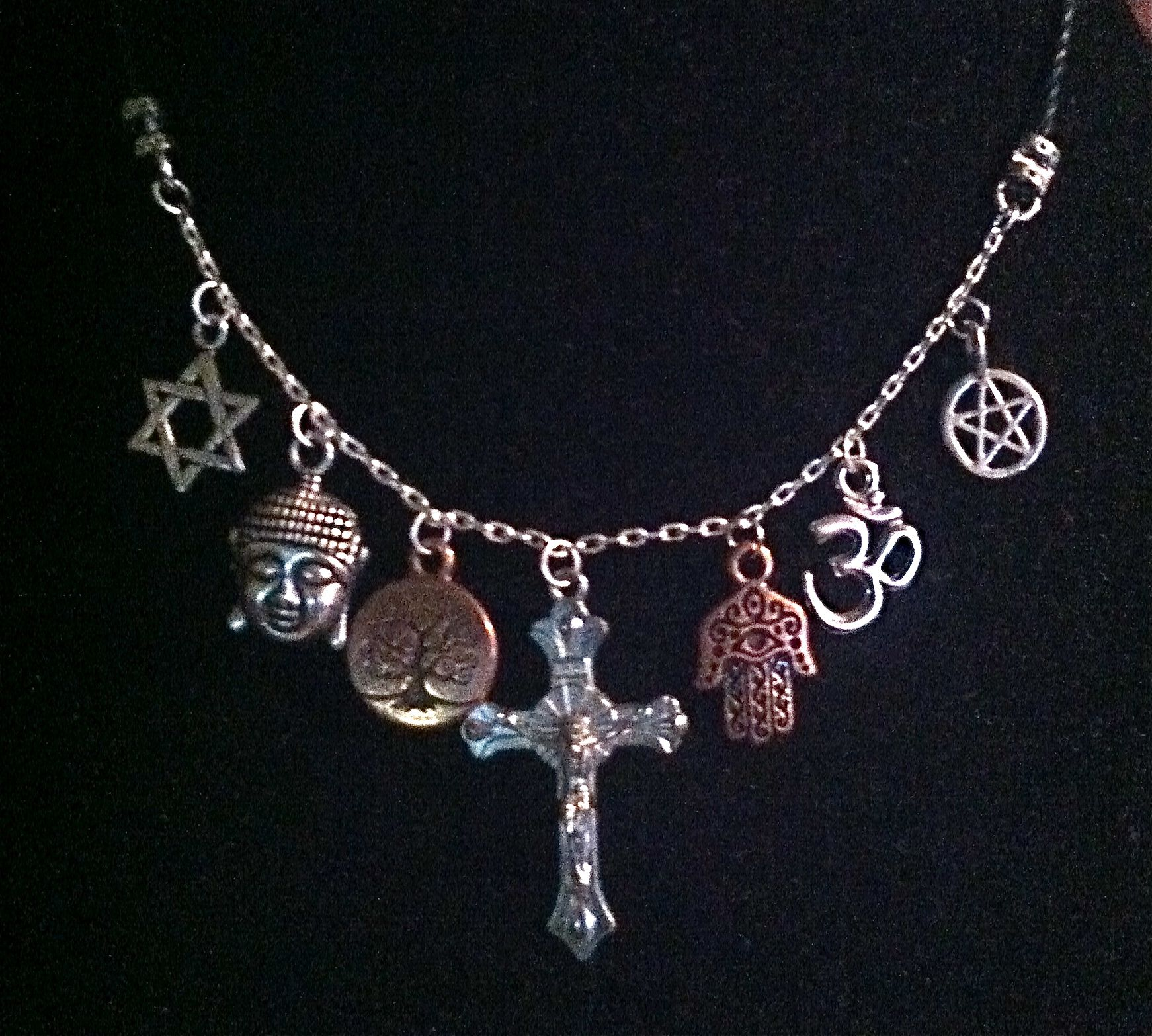 Coexist necklace need i say more shadowcraft artisan coexist necklace need i say more aloadofball Images
