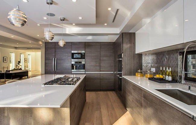 Casas minimalistas y modernas cocinas modernas ffff for Cocinas minimalistas