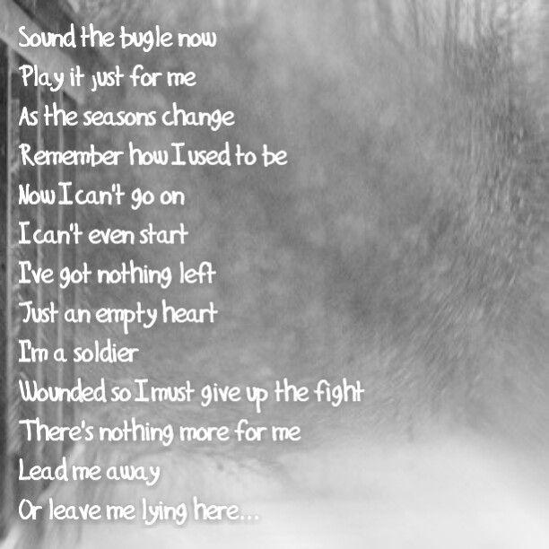 Sound The Bugle- Lyrics - YouTube