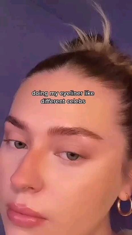 Maquiagem delineado