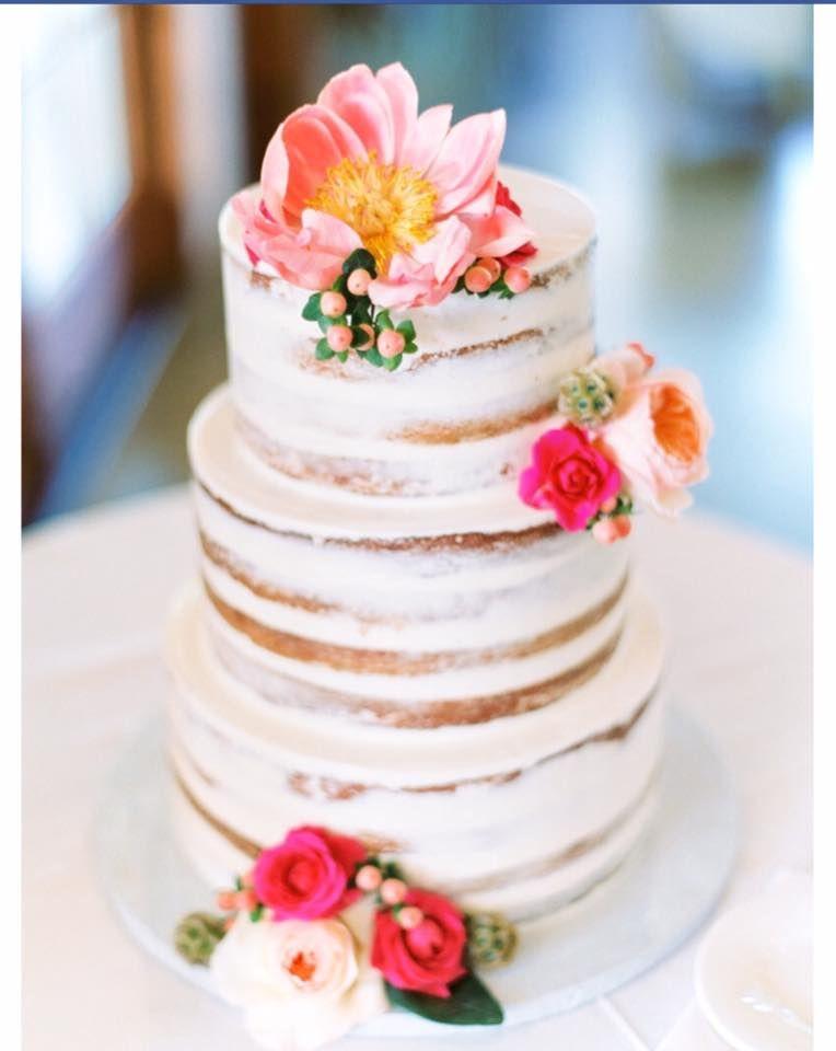 2 Tier Naked Cake - Yes Love Wedding Marketplace