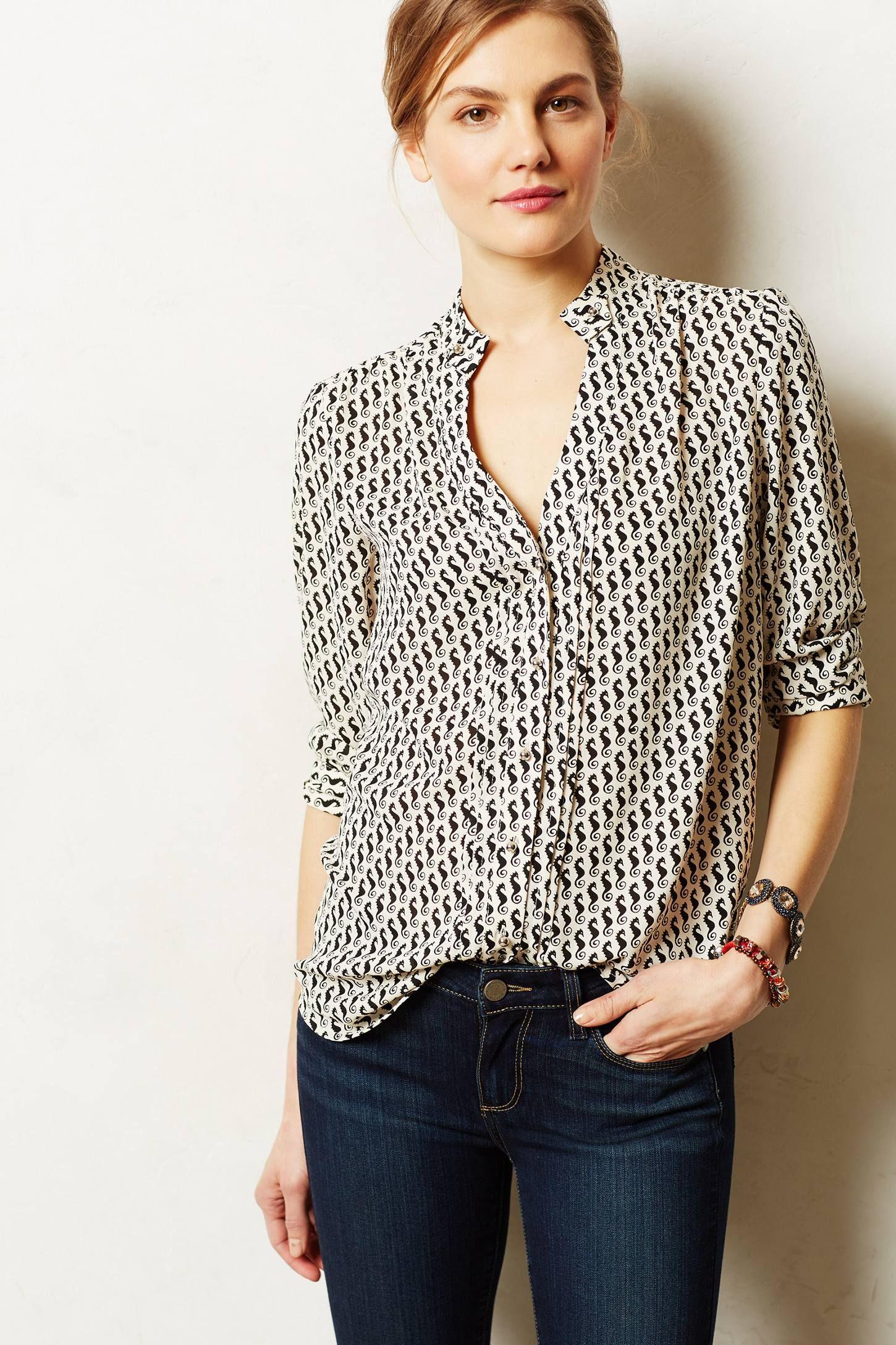 laceshine blouse anthropologiecom anthrofave
