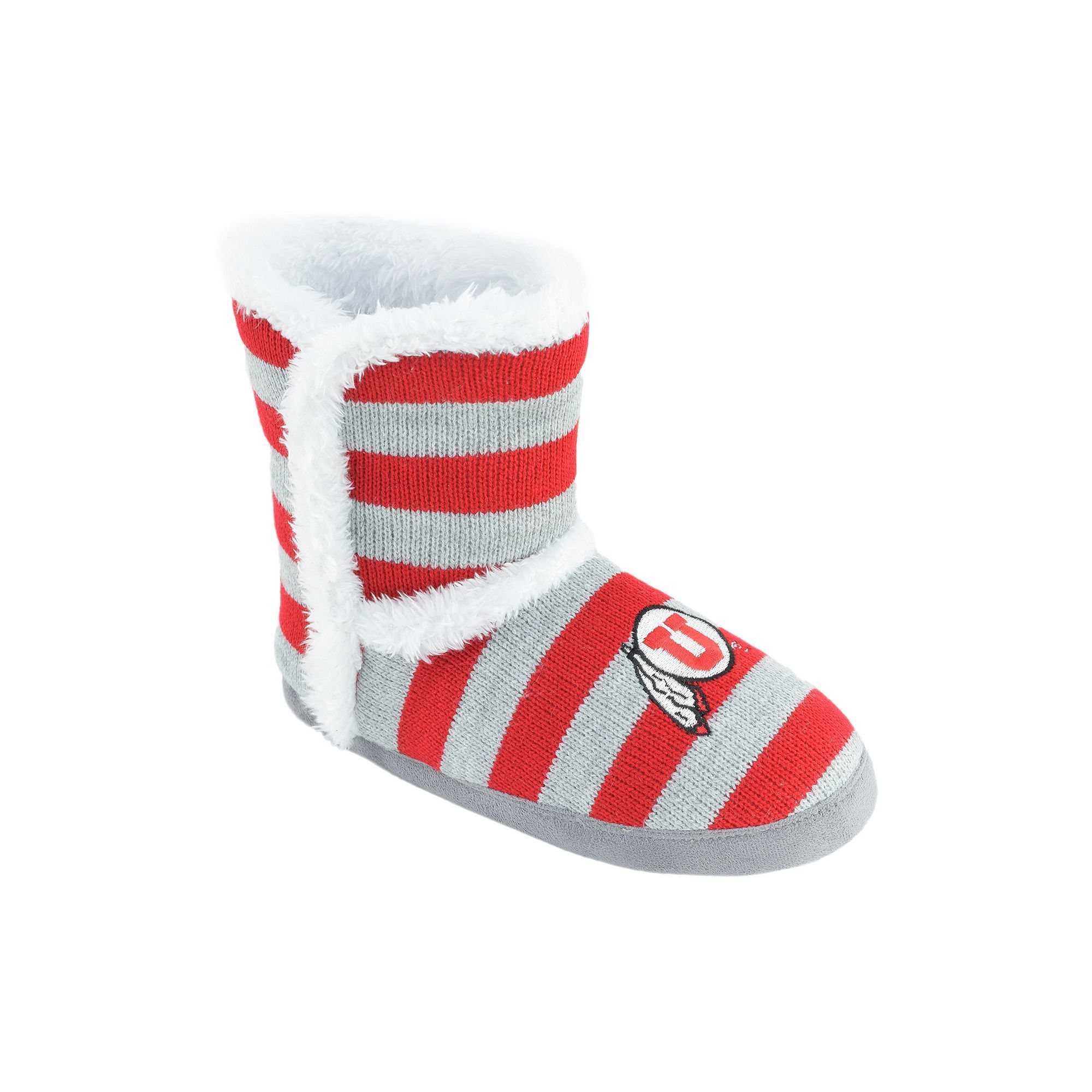 sale best seller amazon cheap online Women's Utah Utes Striped Boot ... Slippers comfortable cheap price cheap discount authentic pSmigJRN5