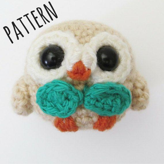 Rowlet Amigurumi Crochet Pattern Pokemon Pinterest Amigurumi