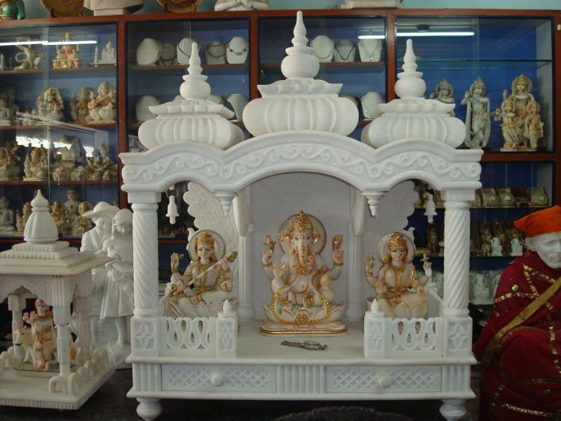 puja room design. home mandir. lamps. doors. vastu. idols ...