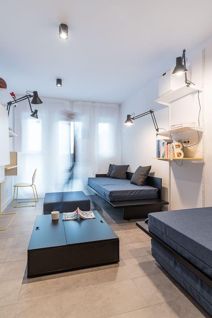 Minimalist Hotel Room: Interior Design, Minimal, Minimalist, Furniture, Student