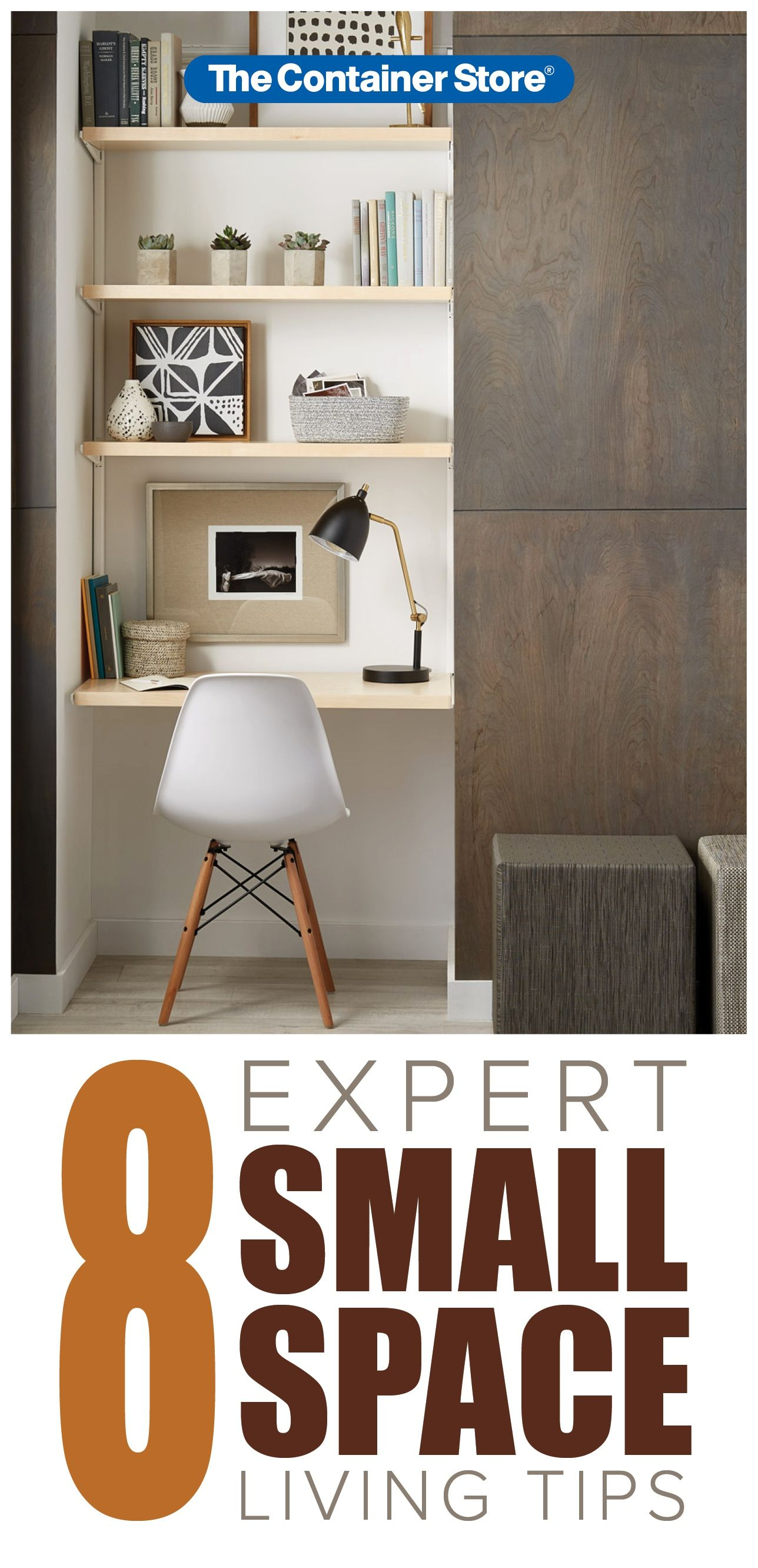 8 Tips For Small Space Organization & Maximizing Space images