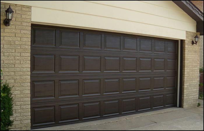 Brown Garage Doors Garage Door Parts Residential Garage