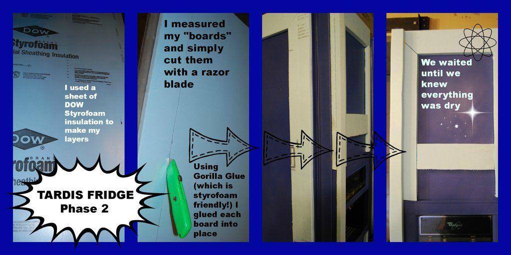 TARDIS FRIDGE Phase 2 by sarahredhead.deviantart.com on @deviantART