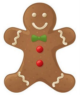 Gingerbread Man Christmas Clipart Free Christmas Gingerbread Christmas Clipart