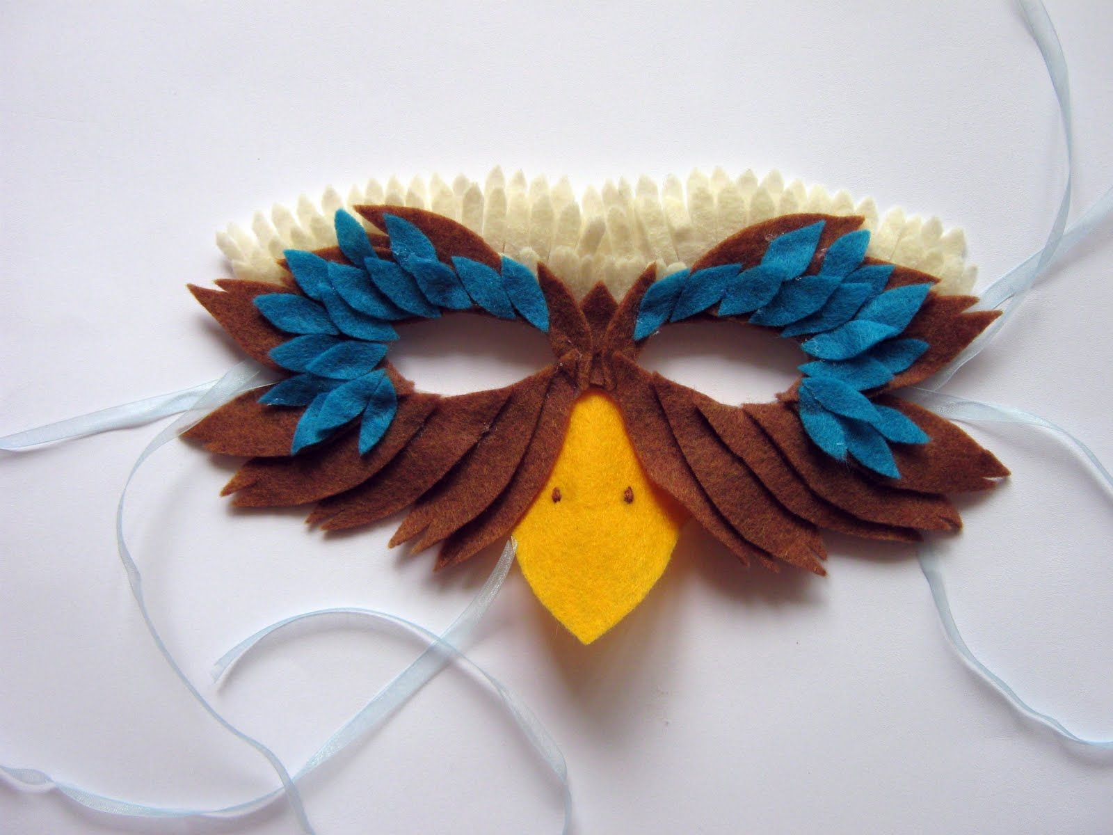 Felt bird mask | Halloween | Pinterest | Felt birds, Felting and ...