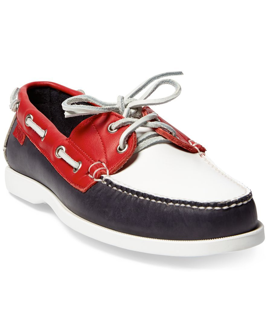 Polo Ralph Lauren Men\u0027s Team Usa Ceremony Boat Shoes